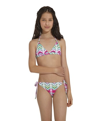 Pink Silktrai Bikini - Toddler & Girls