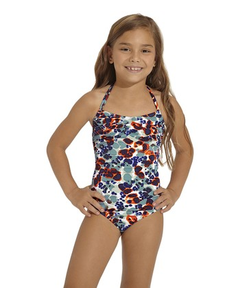 Blue Persia One-Piece - Toddler & Girls