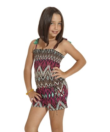 Pink Java Romper - Toddler & Girls