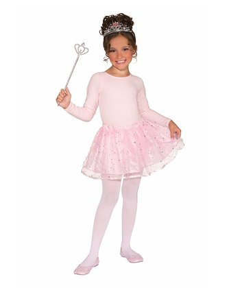 Pink Princess Dress-Up Set - Girls