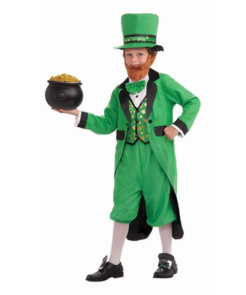 Green Leprechaun Dress-Up Outfit - Boys