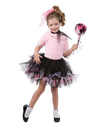 Black & Pink '50s Tutu - Girls