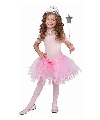 Pink Bow Princess Tutu - Girls