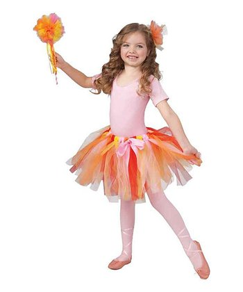 Red & Orange Fairy Tutu - Girls