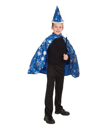 Blue Wizard Dress-Up Set - Boys