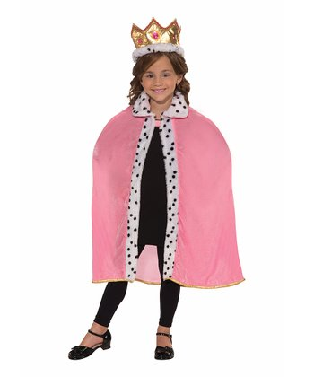 Pink & Gold Queen Dress-Up Set