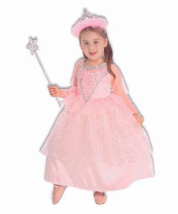 Pink Fairy Princess Dress - Toddler & Girls
