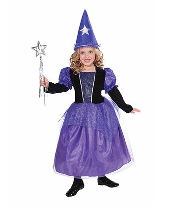 Purple Mystical Mischief Dress-Up Outfit  - Girls
