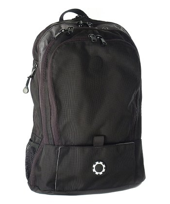 Basic Black Diaper Backpack