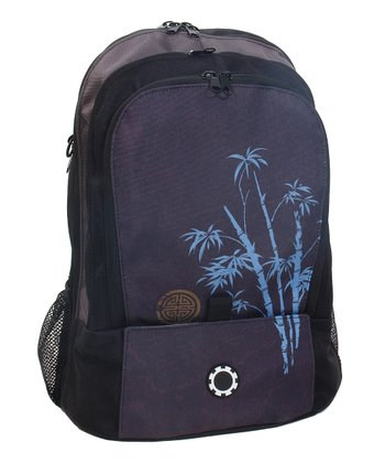 Blue Bamboo Diaper Backpack