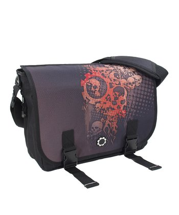 Dead Man's Party Messenger Diaper Bag