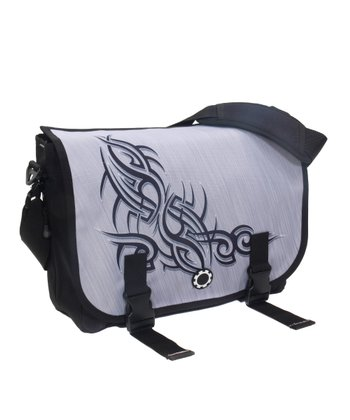 Metal Maori Messenger Bag