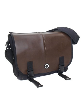 Brown Professional Messenger Diaper Bag