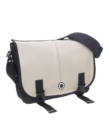 Gray Professional Messenger Diaper Bag