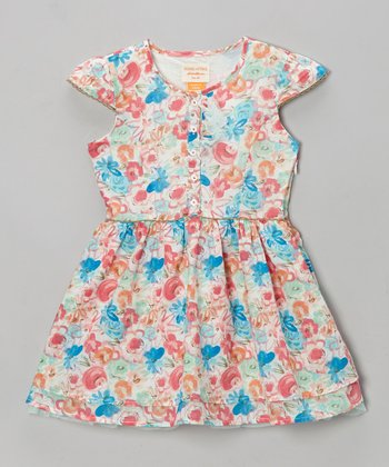 Porcelain Mulberry Dress - Toddler & Girls