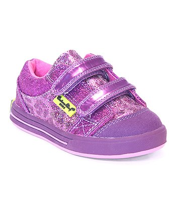 Purple Glam Kitty Sneaker