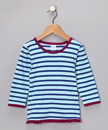 Blue Sky Stripe Tee - Infant & Toddler