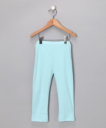 Light Blue Leggings - Infant & Toddler