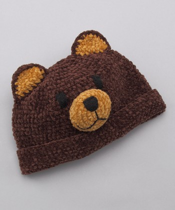 Brown Bear Beanie