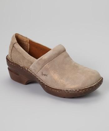 Bronze Metallic Peggy Shoe