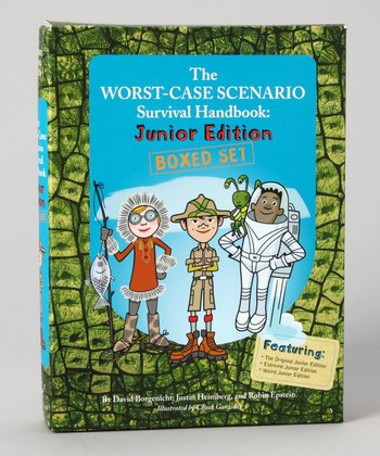 The Worst-Case Scenario Junior Edition Boxed Paperback Set
