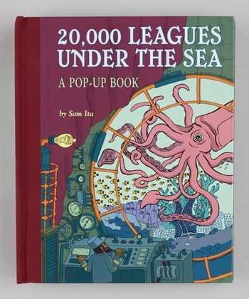 20,000 Leagues Under the Sea Pop-Up Hardcover