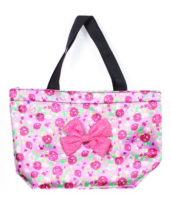 Paris Flower & Bow Tote