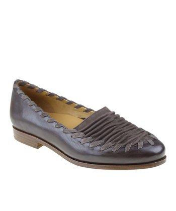Dark Brown Fontana Leather Loafer
