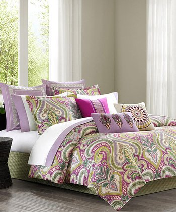 Echo Vineyard Paisley Comforter Set
