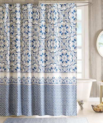 Blue Haven Shower Curtain