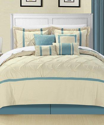 Beige Vermont Comforter Set