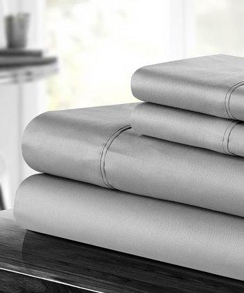 Elegant Gray Sheet Set