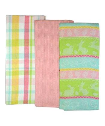 Easter Brunch Dish Towel Set