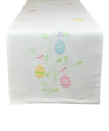 Easter Egg Garden Table Runner