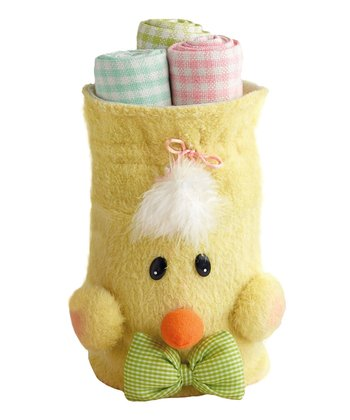 Spring Chick Dish Towel Gift Set