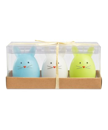 Bunnies in a Crate Candle Set