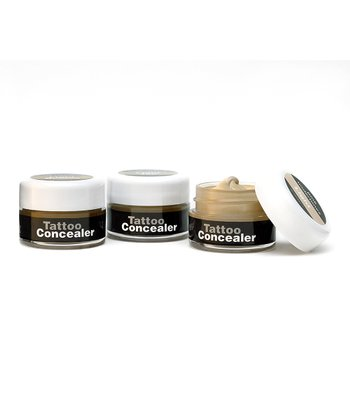 Tan Blending Tattoo Concealer Set