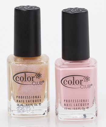Blushing Rose & Pearl-Spective Nail Polish Set
