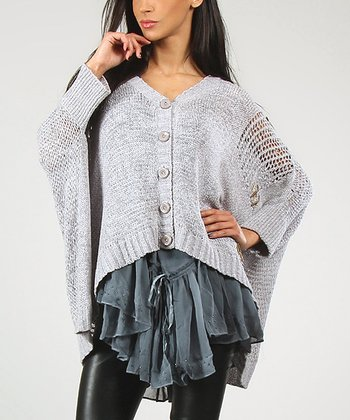 Light Gray Belly Cardigan