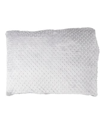 Silver Minky Pillowcase
