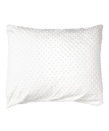 White Minky Pillowcase