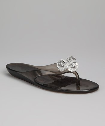 Smoke Venessa Jelly Sandal