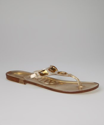 Amber Jewel Beca Jelly Sandal