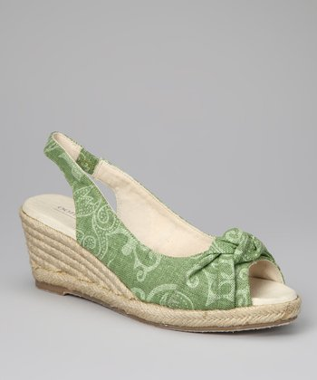 Green Knot Espadrille - Women