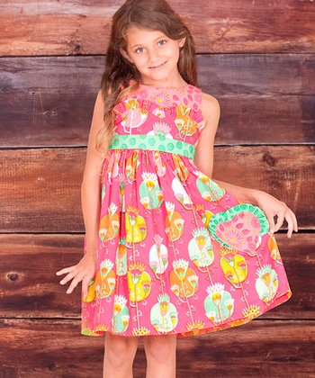 Fuchsia Fiorito Betty Dress - Infant, Toddler & Girls