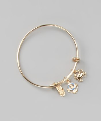 Gold Summer Sea Bangle
