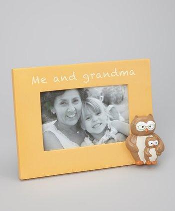 Grasslands Road Yellow 'Me and Grandma' Frame