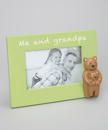 Grasslands Road Green 'Me and Grandpa' Frame
