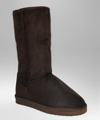 Brown Cozy Boot