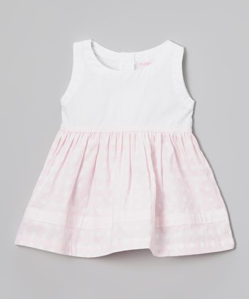 Baby Pink Polka Dot Dress - Infant & Toddler